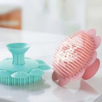 Baby Silicone Shampoo Brush Clean Head Exfoliating Silicone Shampoo Brush