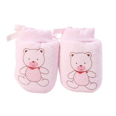 Baby Cute Cartoon cotton Anti Scratch Newborn Mittens Gloves