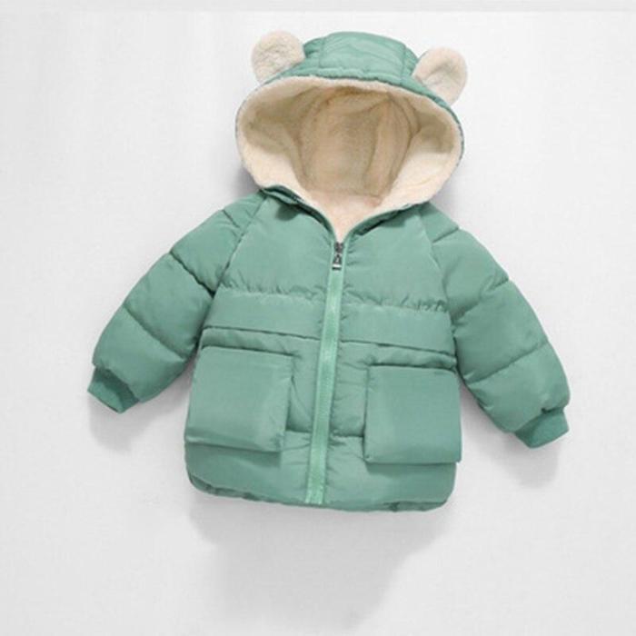 Coat Kids Winter Jacket For Boys Warm Fleece Boys Clothes