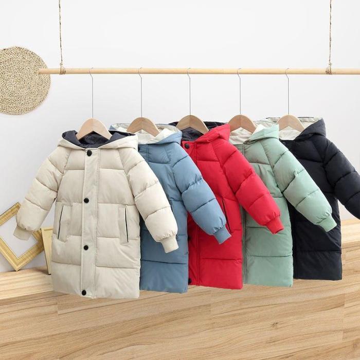 Boys Down Jacket Lightweight Packable Kids Down Coats