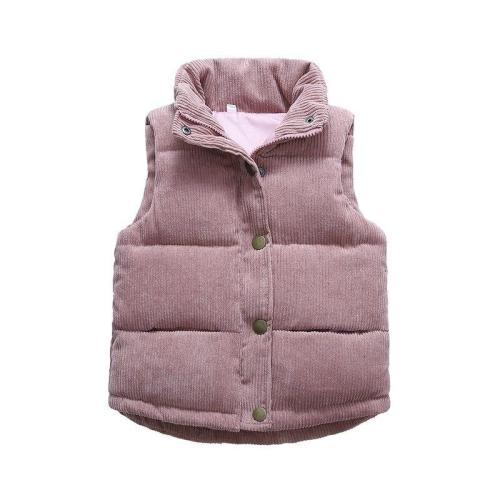 Autumn Boys Warm Vest Winter Thicken Waistcoat Kids Outerwear