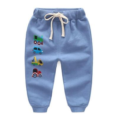 Baby Trousers Cartoon Pants Boy Leggings Cotton Baby High Waist Elastic Harem Trousers