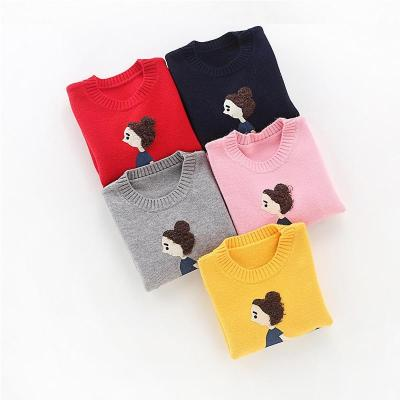 Autumn and Winter Girls' Sweaters Children Clothes