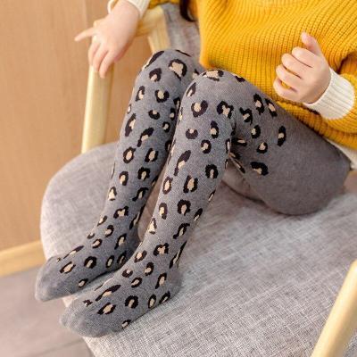 Soft Cotton Leggings for Girls Children Leggings Leopard Pants