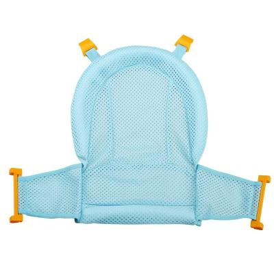 Baby Bath Seat Support Mat Foldable Baby Bath Tub Pad Infant Anti-Slip Soft Comfort Body Cushion