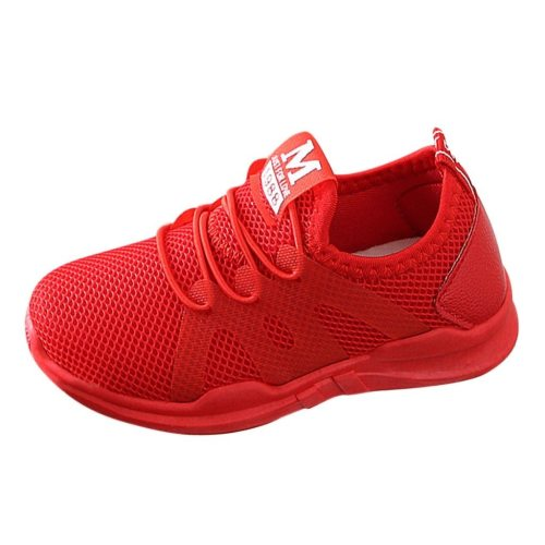 Children Infant Kids Shoes Baby Shoes Letter Mesh Sport Run Sneakers