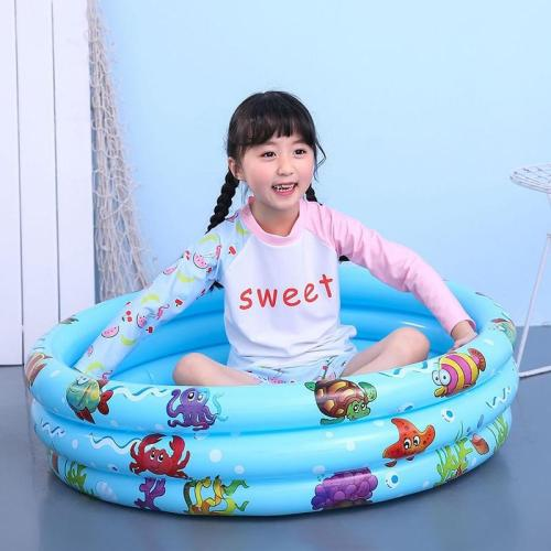Baby Inflatable Round Swimming Pool PVC Float Accessories Swimming Bathing Pool