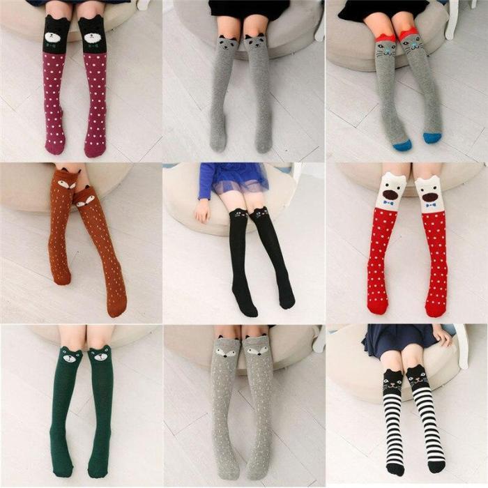 Winter Girls Knee High Tights Leg Warmer Stockings