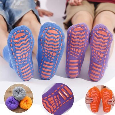 Baby Children Cotton Anti Skid Socks Trampoline Socks
