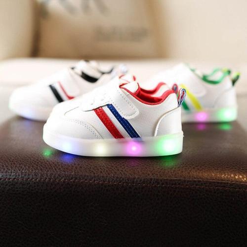 Children's Shoes Colorful Light-emitting Shoes LED Flash Children's Shoes Anti-slip