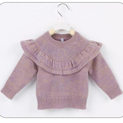 Lovely Toddler Baby Girls Sweater Tops Long Sleeve Big Ruffles Pullover Outfit