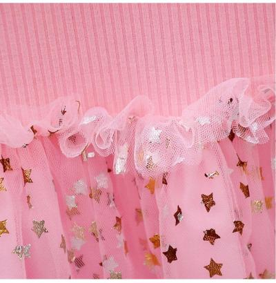 Children's Christmas New Year Dresses Full Sleeve Cute Princess Knitting Dress