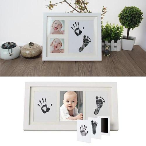 Cute Safe Non-toxic Baby Inkless Handprint Footprint Kit