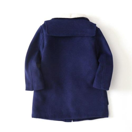Winter Thicken Wool Windproof Warm Boys Jackets Children Outerwear