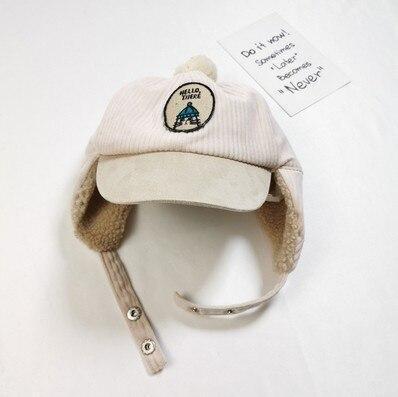 Baby Hats Thick Baby Warm Plush Hat Kids Beanies