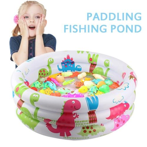 Portable Baby Swimming Pool Inflatable Children Basin Bathtub