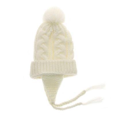 Kids Warm Crochet Knitted Hat Newborn Beanies Caps Cute Toddler Cap