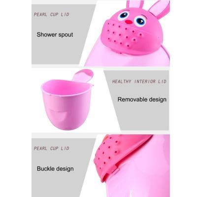 Baby Cartoon Shower Cup Newborn Child Shower Shampoo Cup