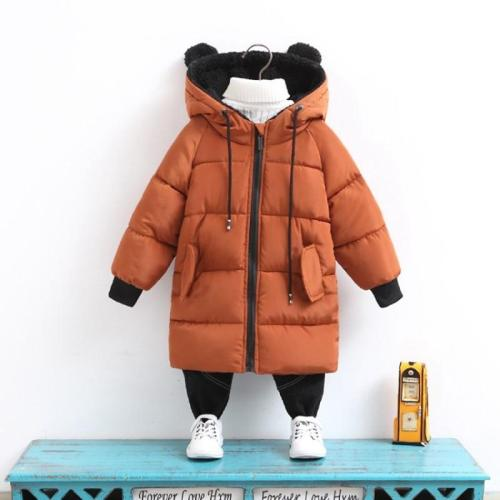 Jackets Kids Boys Coat Children Winter Outerwear Winter Parkas