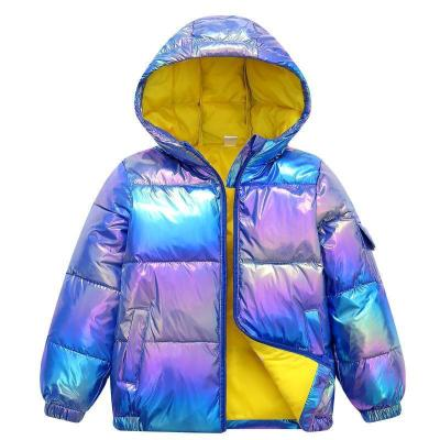 Fashion Boys Coats Winter Jacket Kids Down Cotton Coat Waterproof Snowsuit