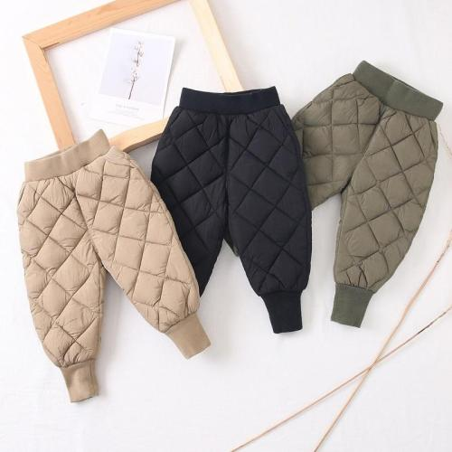 Boys Cotton Trousers Autumn and Winter Clothes Children's Trousers