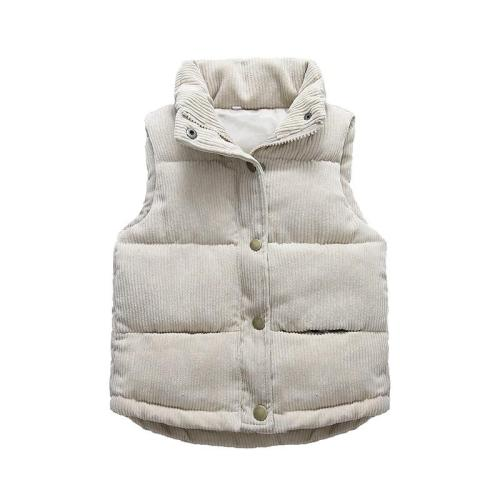 Autumn Boys Warm Vest Winter Thicken Waistcoat Kids Outerwear