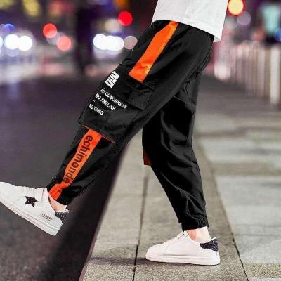 Boys Pants Casual Multi-Pocket Sports Pants Children's Long Trousers