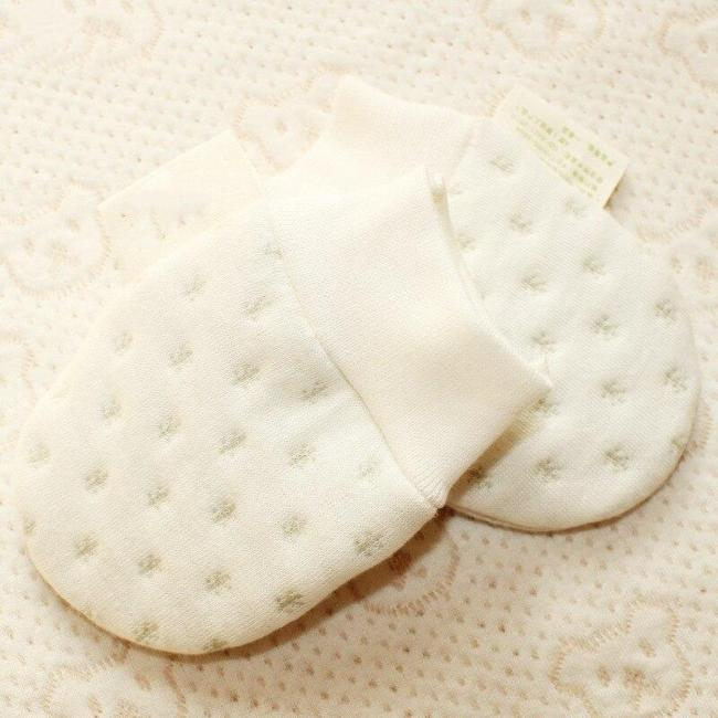 Organic Cotton Baby Anti Scratch Gloves Winter Newborns Mittens
