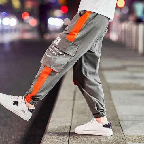 Boys Pants Casual Multi-Pocket Sports Pants Children's Long Trousers