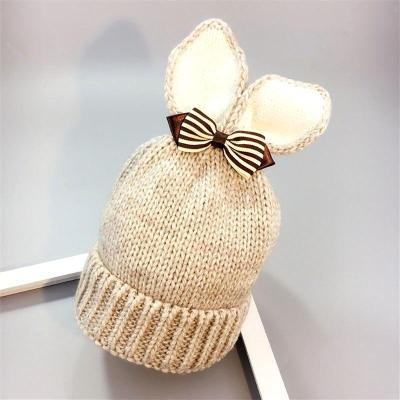 Rabbit Ears Baby Hat Beanie Caps Warm Winter Kids Hat
