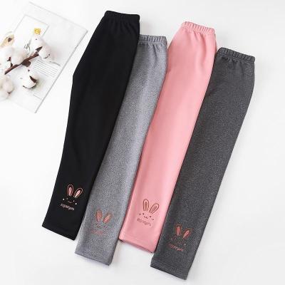 Girls' Leggings Models Outer Wear Velvet Padded Kids Leggings Winter Pants