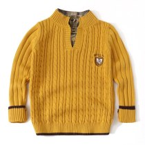 Teenager Sweater Knitwear Clothes Winter Teen Boys Knitted Sweater Toddler