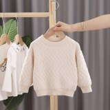 Children's Sweaters Kids Boys Girls Knitted Sweater Stripe Sweaters Toddler Clothes