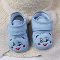 Newborn Baby Shoes Soft Sole Cartoon Anti-slip Shoes Comfortable Cotton Baby First Walkers