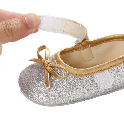 Baby First Walkers Newborn Infant Sequins Princess Shoes Soft Crib Girl Sneaker