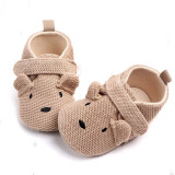 Toddler Newborn Baby Animal Crib Shoes Infant Cartoon Soft Sole Non-slip Cute Shoes