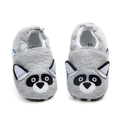 Newborn Baby Home Shoes Soft Sole Indoor Slippers Infant Crib Shoes
