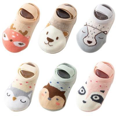 Baby Socks Floor Non-slip Cotton Cartoon Doll Socks Baby Toddlers' shoes And Socks