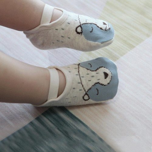 Baby Socks Floor Non-slip Cotton Cartoon Doll Socks Baby Toddlers' shoes And Socks