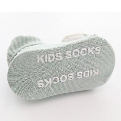Cotton Baby Socks Cartoon Fruit Newborn Socks Rubber Anti Slip Infant Floor Socks