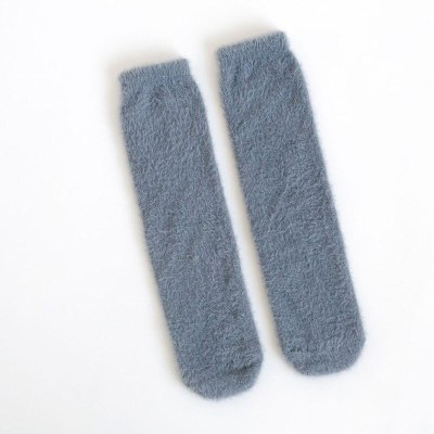Winter Warm Coral Fleece Socks Soft Wool Baby Knee High Socks Infant Toddler Christmas Socks