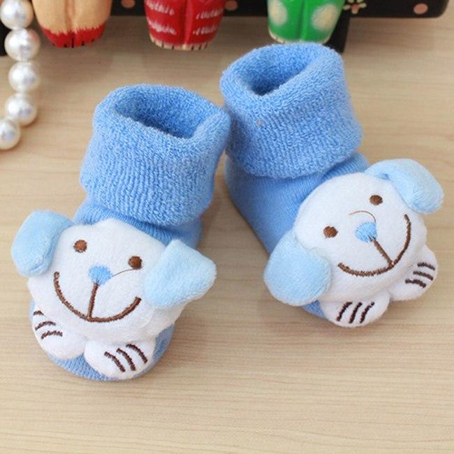 Cartoon Newborn Kids Baby Warm Socks Slipper Shoes Boots