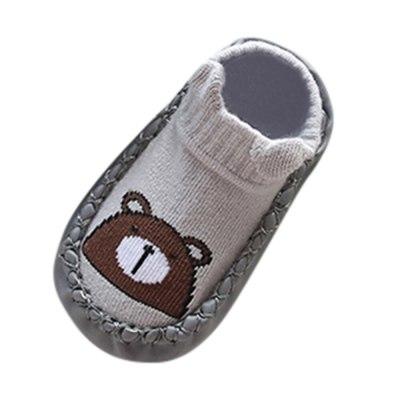 Newborn Baby Socks Cartoon Animal Baby Anti-Slip Socks Slipper Shoes
