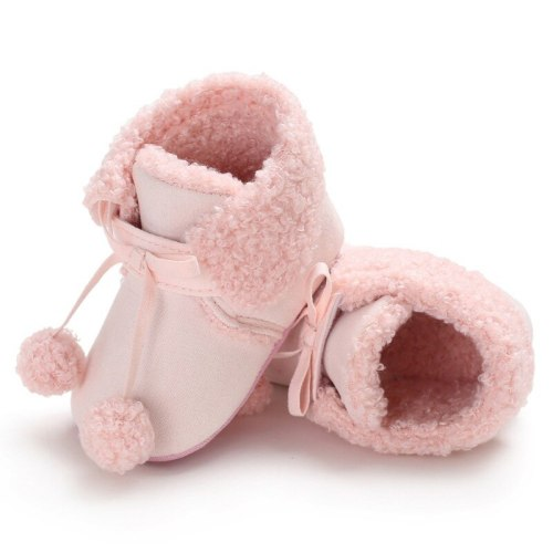 Fashion Winter Baby Infant 0-18 Months Cotton Shoes Plush Warm Boots