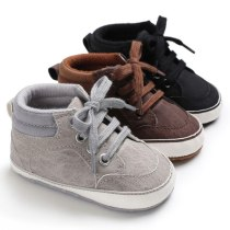 Baby Shoes Newborn First Walkers Kids Soft Sole Non-Slip Crib Sneakers