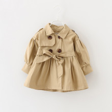 Baby Jacket Girl Baby Coat Baby Trench Double Breast Windbreaker for Girl Kids Jacket