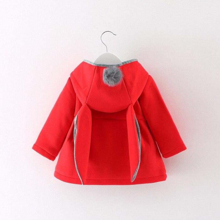 Baby Girls Coat Winter Warm Children Girl Clothes Cute Coat Jacket Casual Kids Outerwear