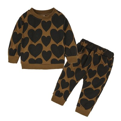Children Clothing Baby Girls Clothes Long Sleeve Outfits Kids Clothes Sport Suit Clothing Sets