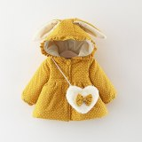 Winter Newborn Baby Girls Clothes Thick Warm Velvet Jacket Coat Infant Overcoats Toddler Clothes