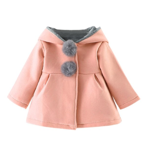 Baby Girls Coat Winter Warm Children Girl Clothes Cute Coat Jacket Casual Kids Outerwear